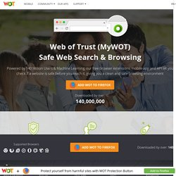 Safe Browsing Tool | WOT (Web of Trust)