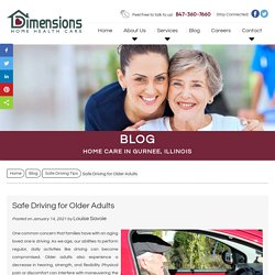 Safe Driving for Older Adults