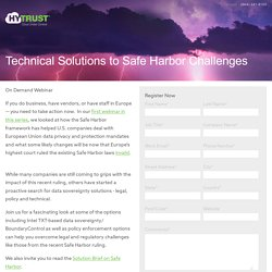 Safe Harbor 2 Registration