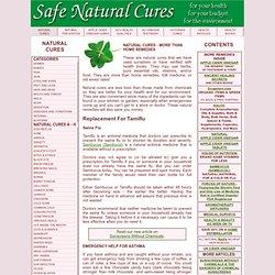 Safe Natural Cures