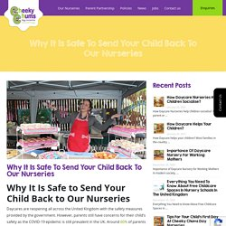 Why It Is Safe to Send Your Child Back to Our Nursery School