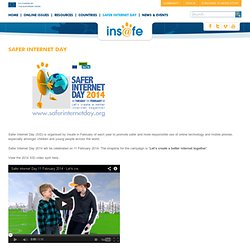 Safer Internet Day - Insafe