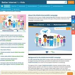 SaferInternet4EU campaign