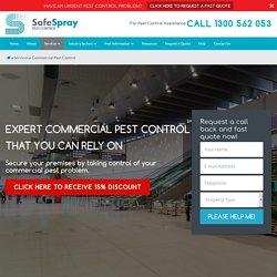 SafeSpray Commercial Pest Control Sydney