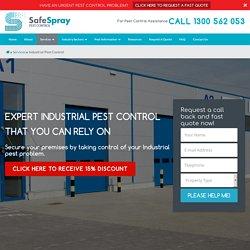 SafeSpray Industial Pest Control Sydney