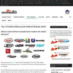 Top 10 Safest Motorcycle Helmet Brands 2020 - Billys Crash Helmets