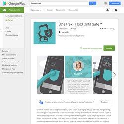 SafeTrek - Hold Until Safe℠