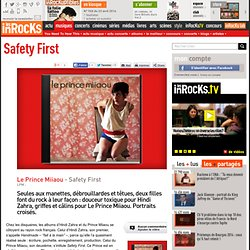 Le Prince Miiaou - Safety First : LesInrocks.com