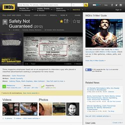 Safety Not Guaranteed (2012