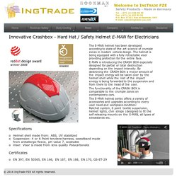 E-MAN Hard Hat / Safety Helmet for Electricians