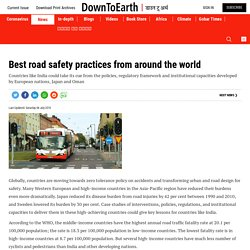 Best road safety practices from around the world