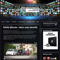 Safety QRcode : Votre code sécurité