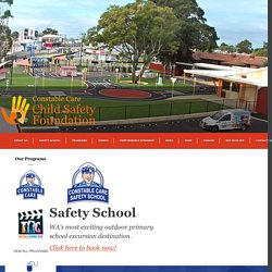 Safety School » Constable Care Child Safety