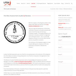 Fire Safety & Suppression System Inspections and Audits