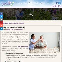 Safety Tips for Feeding the Elderly