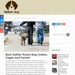 Best Safety Travel Dog Crates, Cages and Carrier