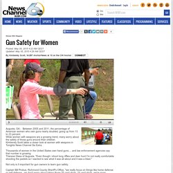 Gun Safety for Women - WJBF-TV ABC 6 Augusta-Aiken
