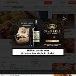 Saffransbullar med mandelmassa - Guest User - Recept