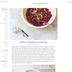 Saffron Raspberries Recipe