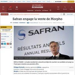 Safran engage la vente de Morpho