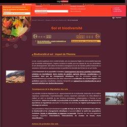 CNRS/sagascience - Biodiversité et sol: impact de l'Homme