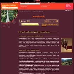sagascience - Ce que la biodiversité apporte à l'espèce humaine