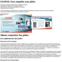 sagascience : CLIMAT, Une enquête aux pôles