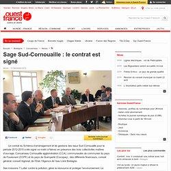 Sage Sud-Cornouaille : le contrat est signé - Névez - Faits de société