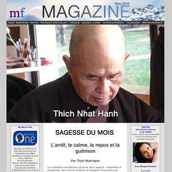 La sagesse du mois : Le Bonheur et le bien-être par Matthieu Ricard
