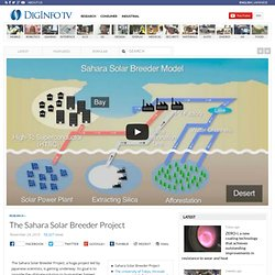 The Sahara Solar Breeder Project