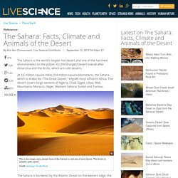 The Sahara: Facts, Climate and Animals of the Desert