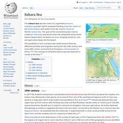 Sahara Sea