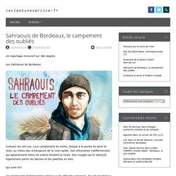 Sahraouis de Bordeaux, le campement des oubliés - WordPress