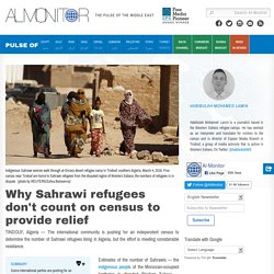 Why Sahrawi refugees don't count on census to provide relief