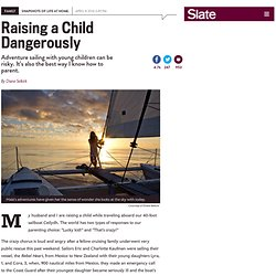 Rebel Heart sailboat rescue: Eric and Charlotte Kaufman are part of my community, and we're good parents.