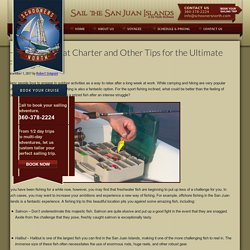 Hiring a Sailboat Charter and Other Tips for the Ultimate Fishing Trip