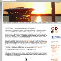 Sail Far Live Free: Top 10 Favorite Affordable Bluewater Sailboats