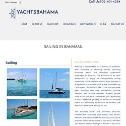 Sailing in Bahamas - YACHTS BAHAMA