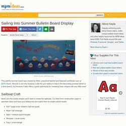 Sailing Into Summer Bulletin Board Display