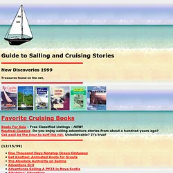 Guide to Sailing and Cruising Stories - New Discoveries 1999