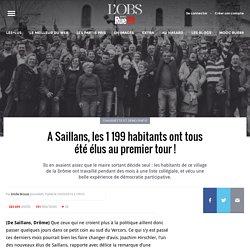 A Saillans, les 1199habitants ont tous été élus au premier tour!