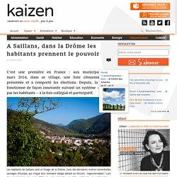 A Saillans, dans la Drôme les habitants prennent le pouvoir