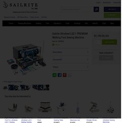 Sailrite Ultrafeed LSZ-1 PREMIUM Walking Foot Sewing Machine