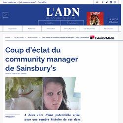 Sainsburry's community management - crise réseaux sociaux
