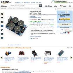 SainSonic LM3886TF Amplifier AMP+Power Supply Rectifier: Amazon.co.uk: Electronics