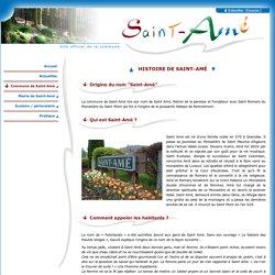 Saint-Amé - Histoire de Saint-Amé