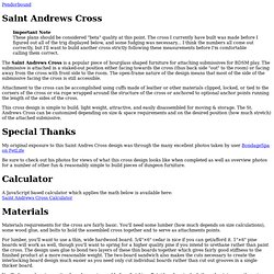 Saint Andrews Cross - Pendorbound