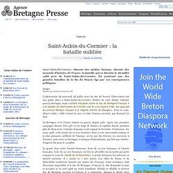 Saint-Aubin-du-Cormier : la bataille oubliée
