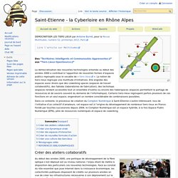 Saint-Etienne - la Cyberloire en Rhône Alpes
