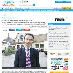 Saint-Leu-la-Forêt. Le maire de Saint-Leu fait plier la banque Dexia